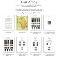 East African Stamps 1890-1978