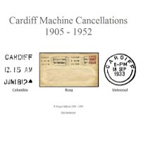 Cardiff Machine Cancellations 1905 - 1952